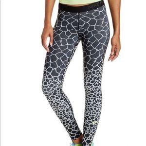 Nike Pro Giraffe Print Leggings